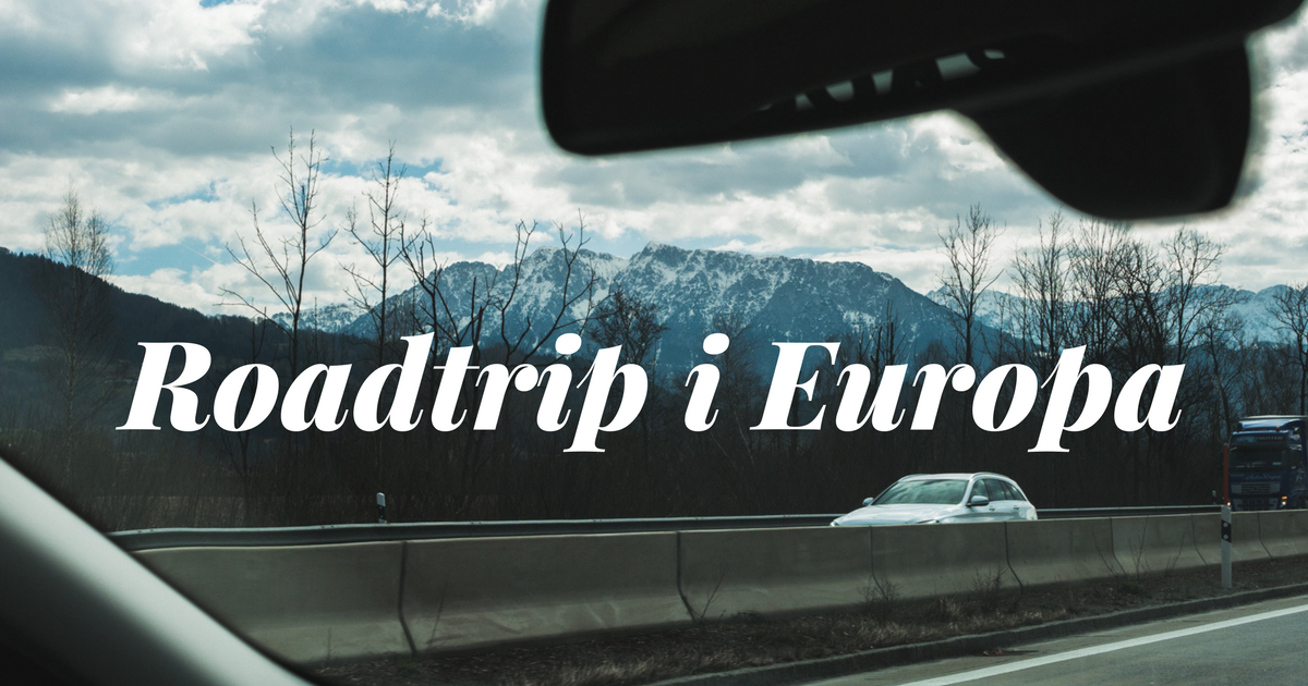 roadtrip europa tips