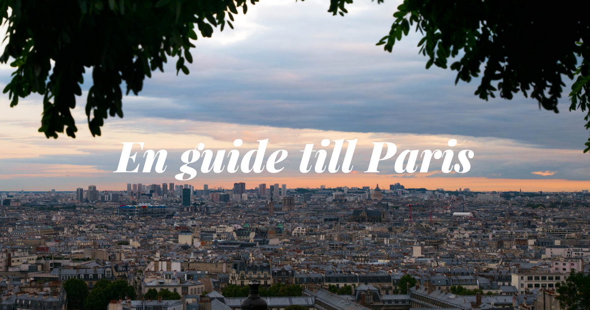 guide till Paris