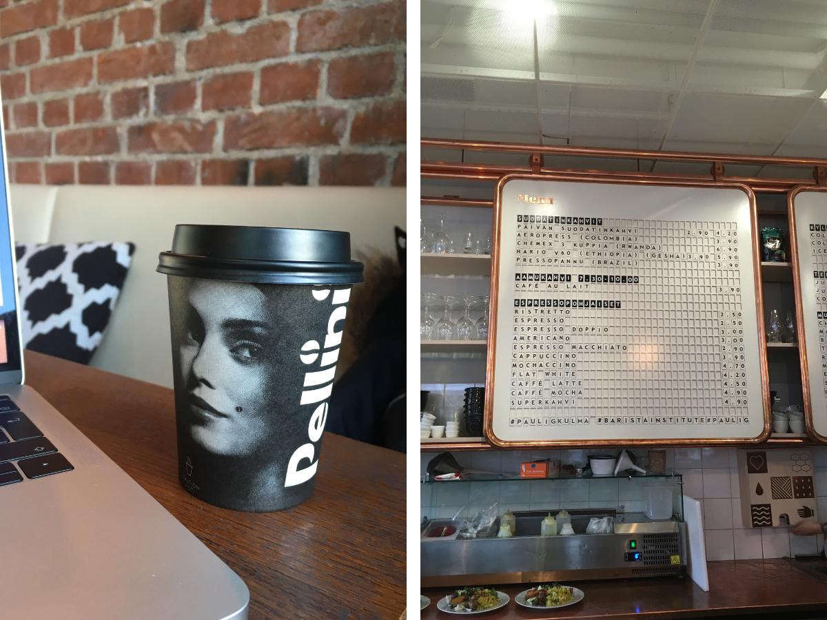 cafe i Helsingfors