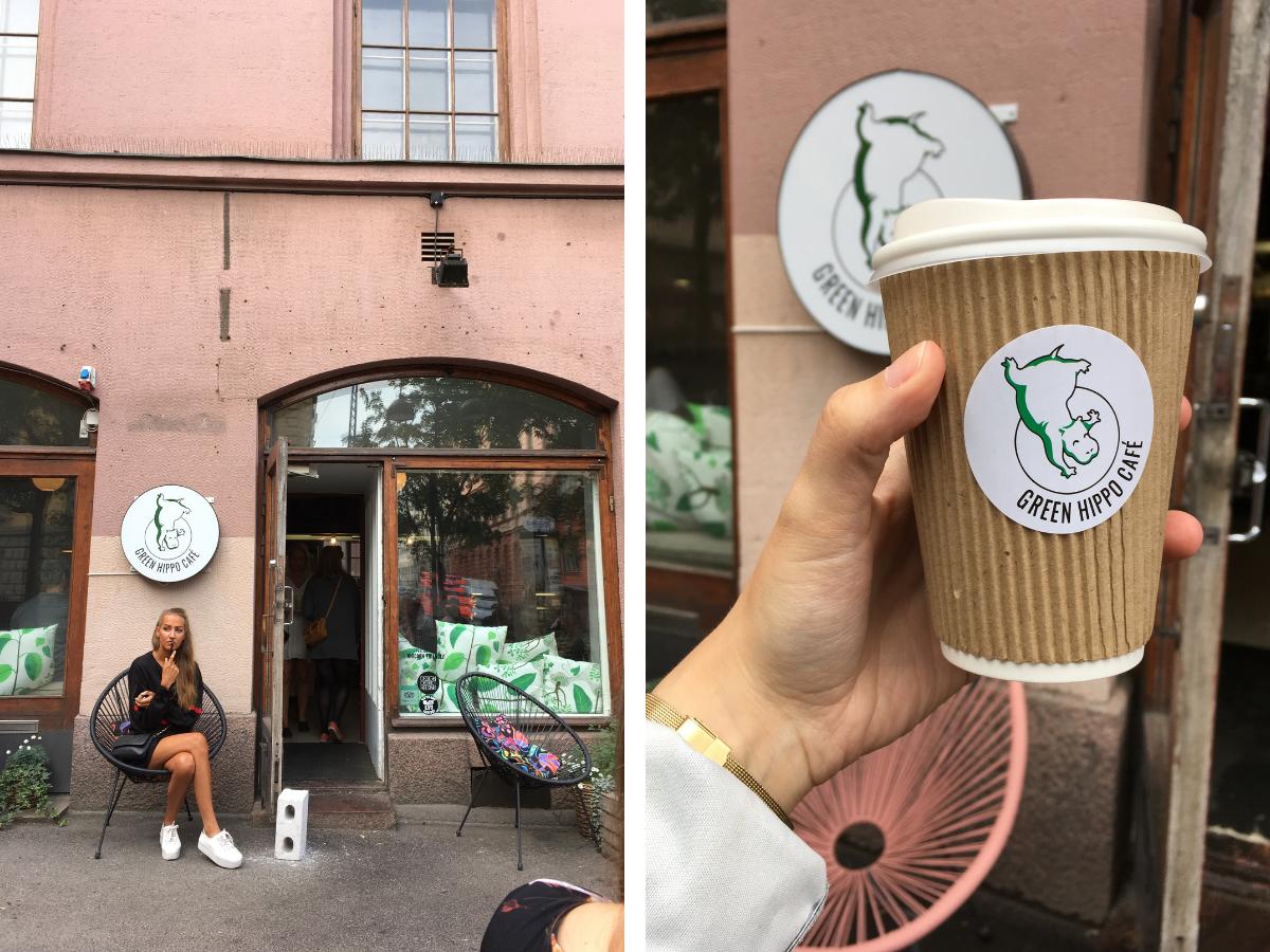 caféer i Helsingfors
