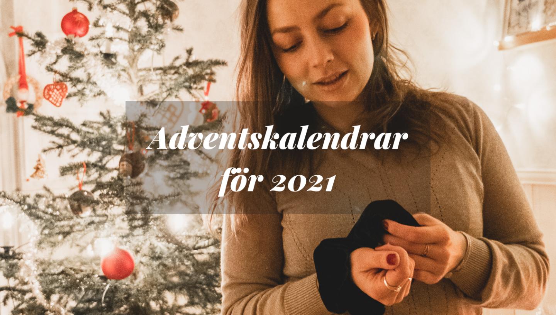 tips på adventskalendrar julen 2021